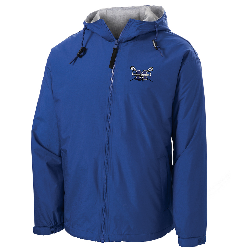 Monroe Braves Hooded Jacket