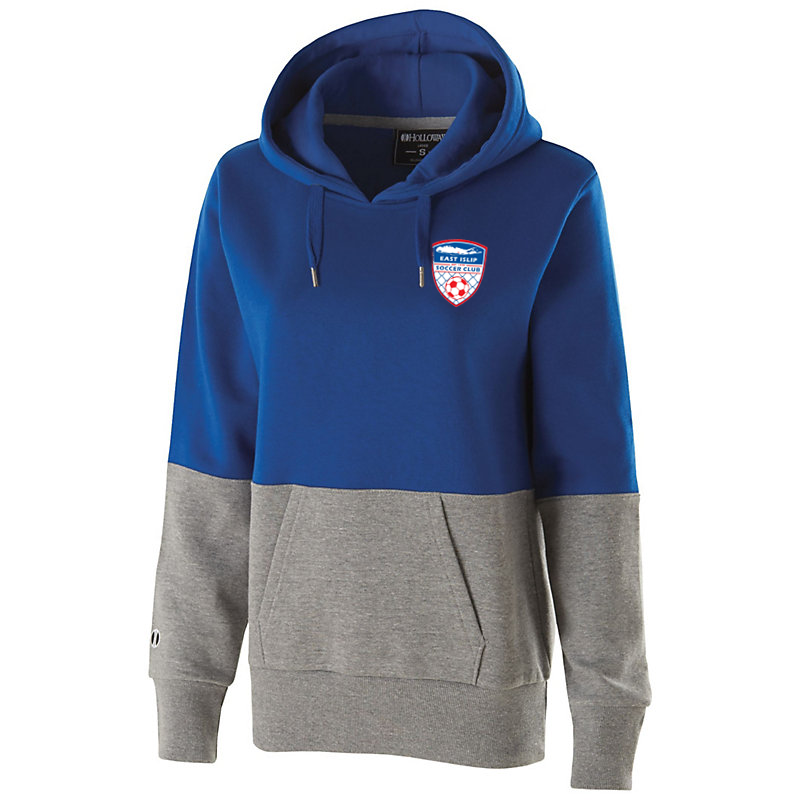 East Islip Soccer Club  Women's Colorblock Hoodie