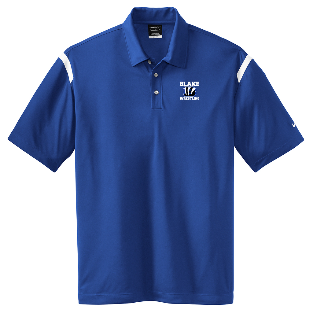 Blake Wrestling Nike Dri-FIT Stripe Polo