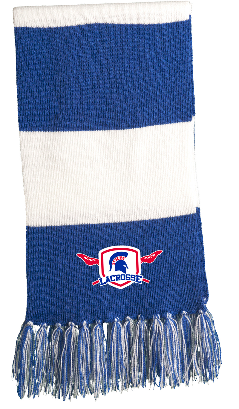 Bixby Lacrosse Royal Blue Team Scarf