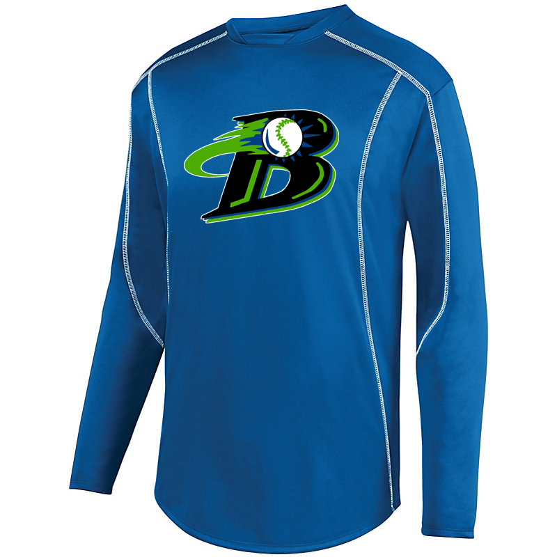 Michigan Blast Elite Baseball Warmup Pullover