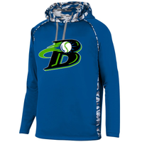 Michigan Blast Elite Baseball Camo Hoodie