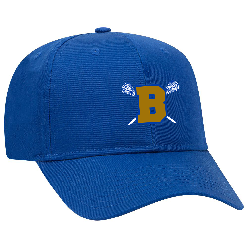 Brentwood Lady Lacrosse Royal Blue Cap