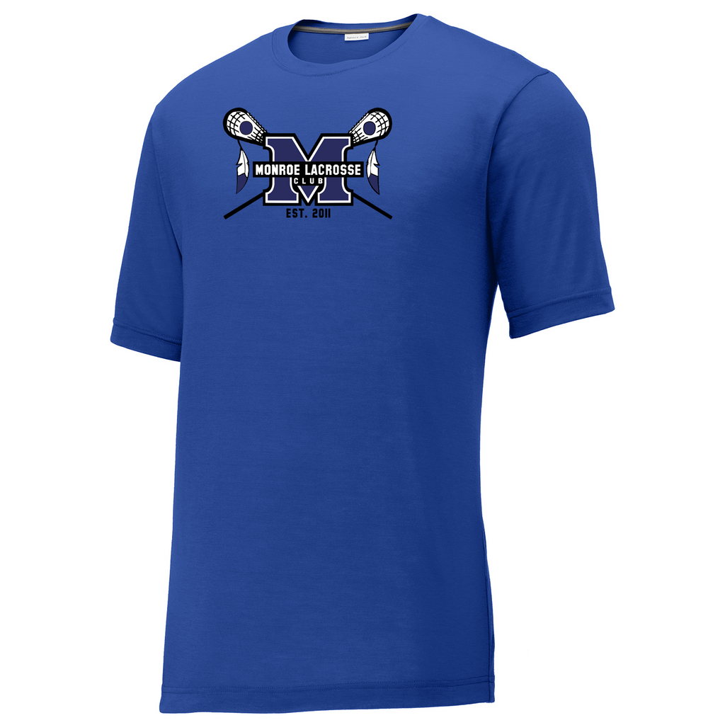 Monroe Braves CottonTouch Performance T-Shirt