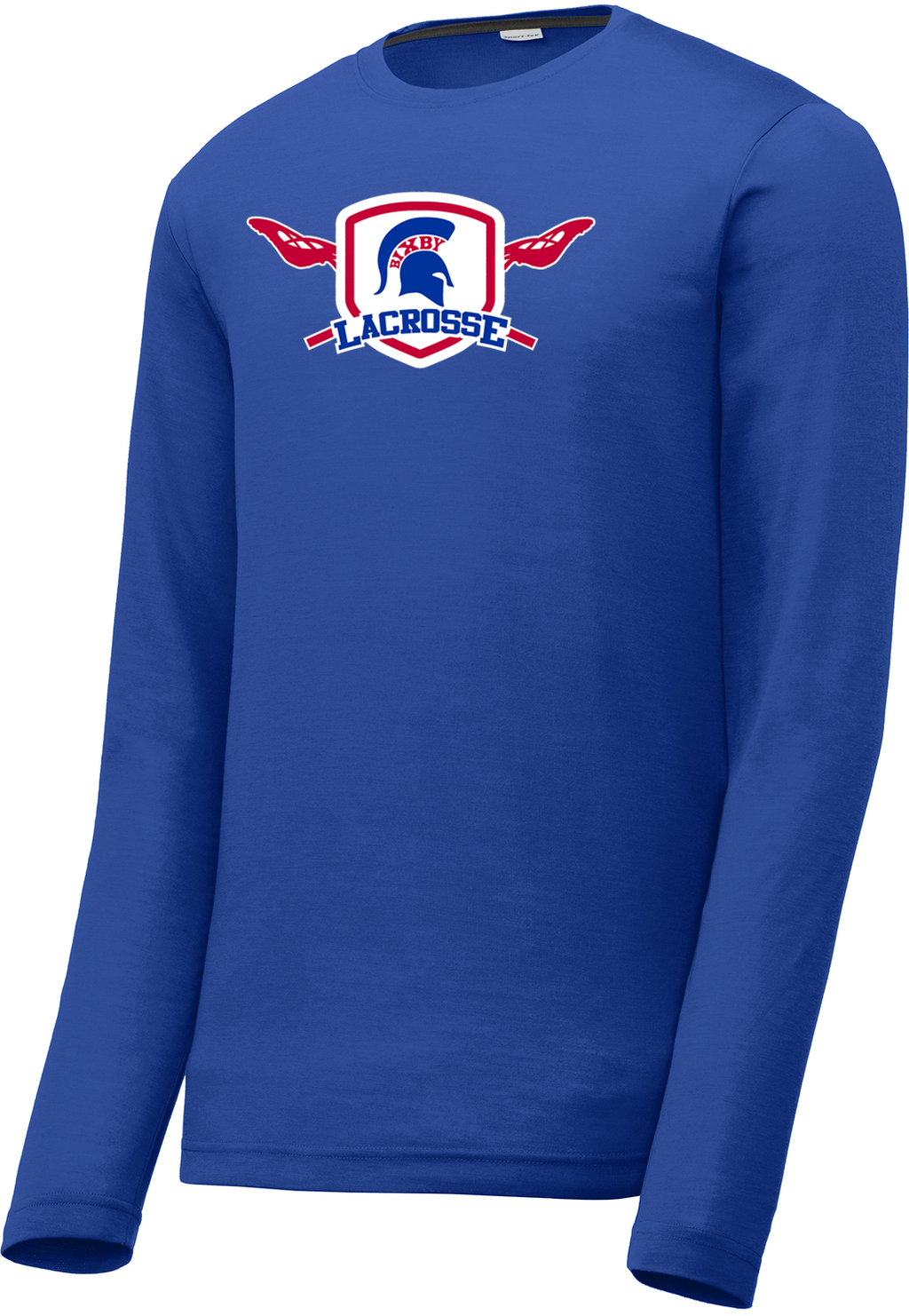 Bixby Lacrosse Royal Blue Long Sleeve CottonTouch Performance Shirt