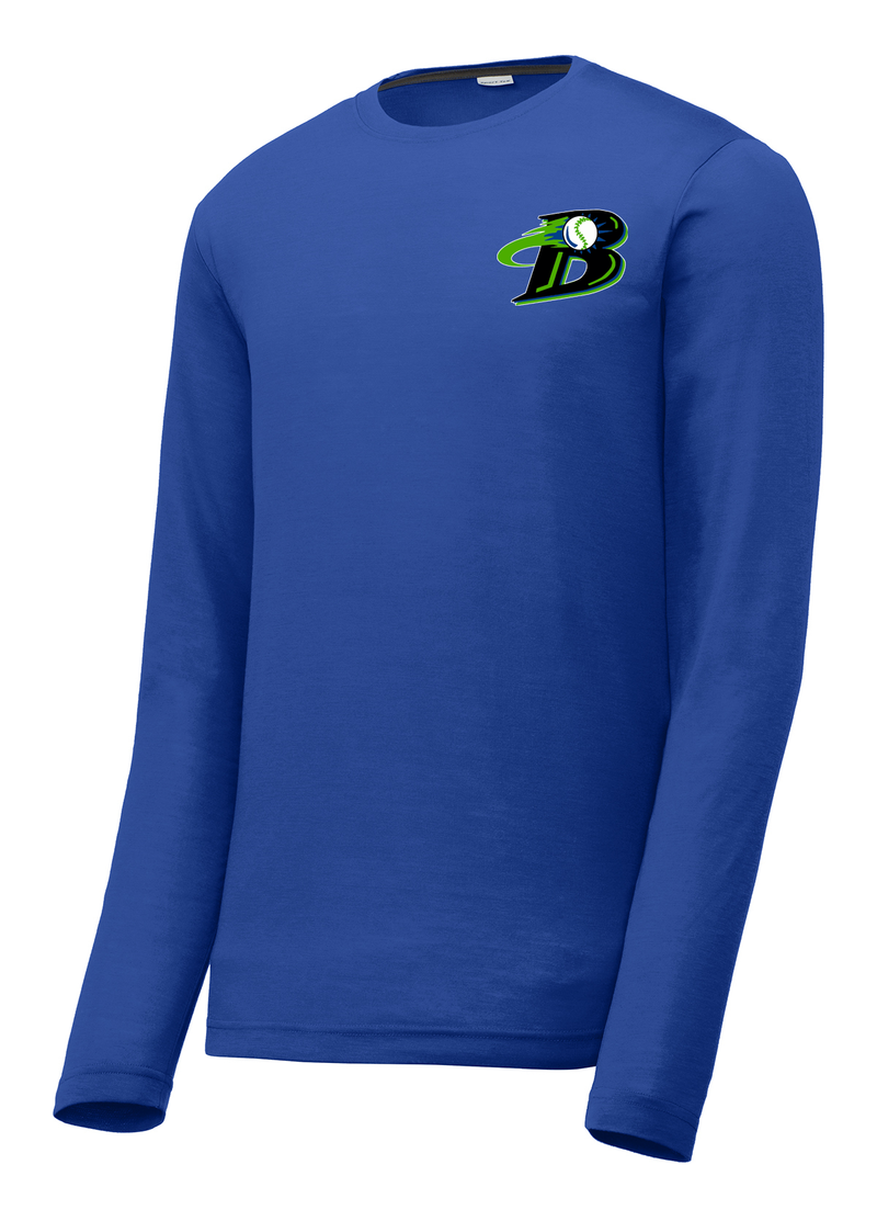 Michigan Blast Elite Baseball Long Sleeve CottonTouch Performance Shirt