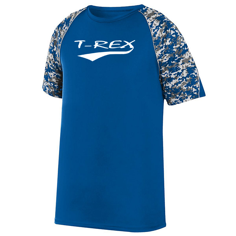 T-Rex Baseball Digi-Camo Performance T-Shirt