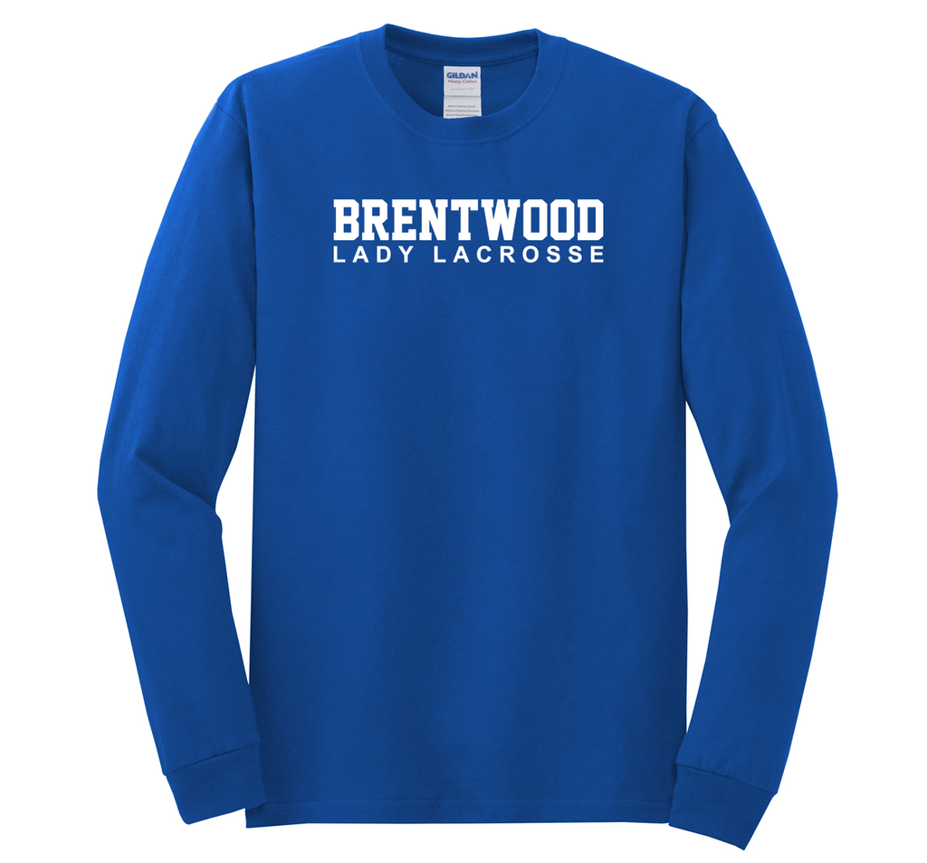 Brentwood Lacrosse Cotton Long Sleeve