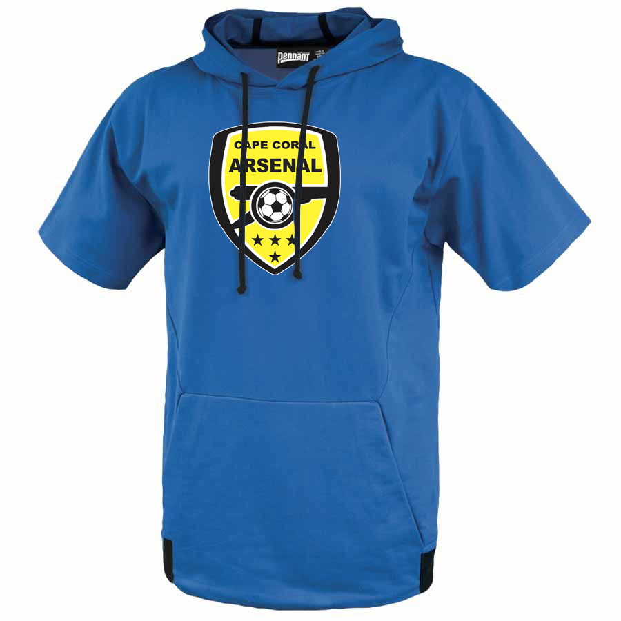 Cape Coral Arsenal Short Sleeve Hoodie