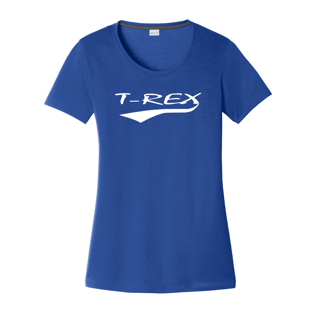 T-Rex Baseball Women's CottonTouch Performance T-Shirt