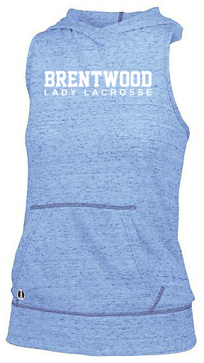 Brentwood Women's Blue Hooded Tank