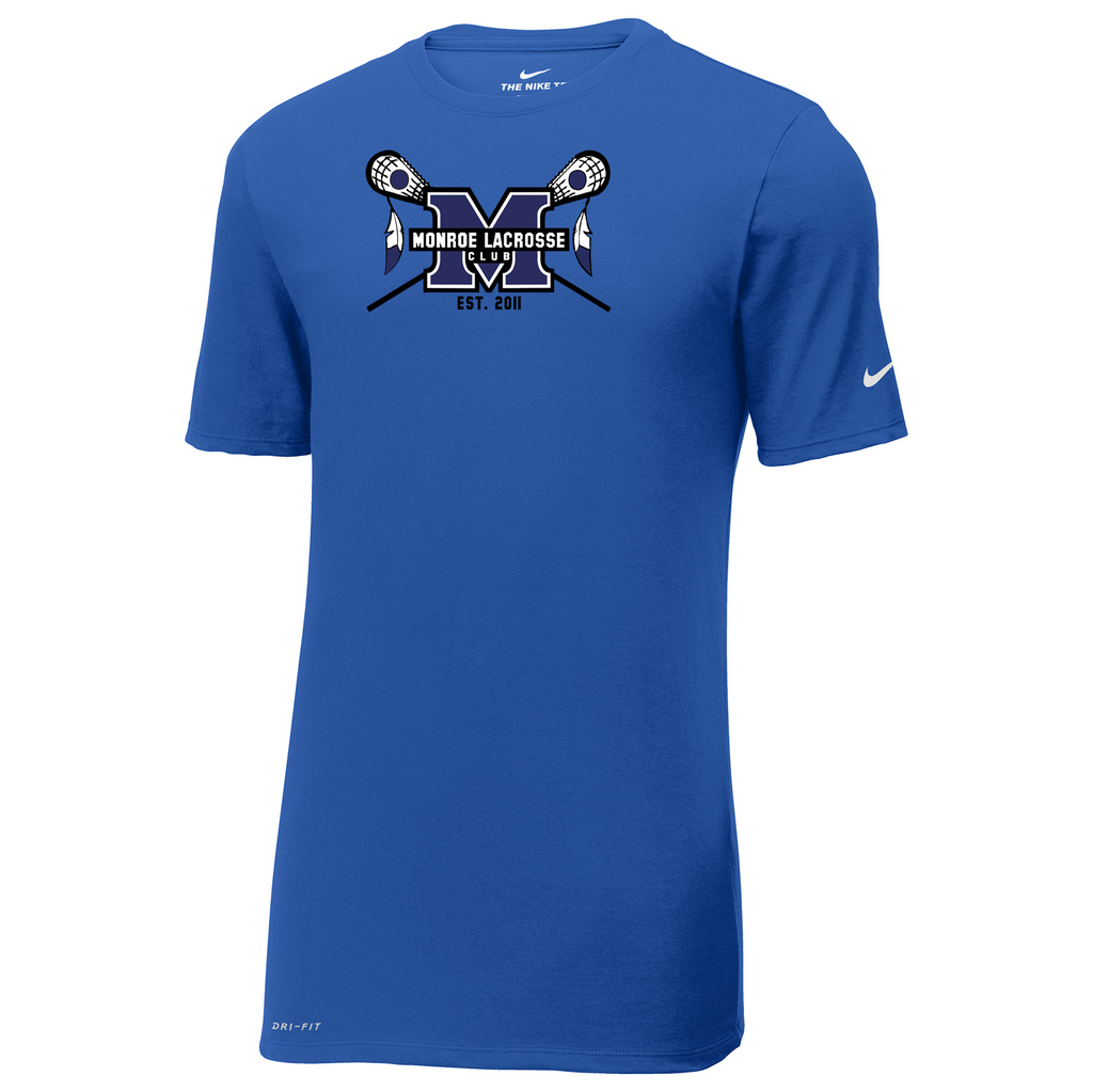 Monroe Braves Nike Dri-FIT Tee