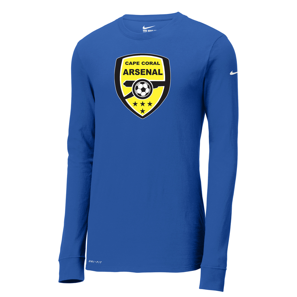 Cape Coral Arsenal Nike Dri-FIT Long Sleeve Tee