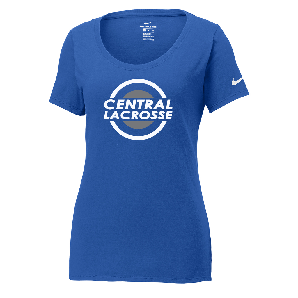 Central Girls Lacrosse Nike Ladies Core Cotton Tee