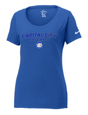 Capital City Baseball Nike Ladies Core Cotton Tee