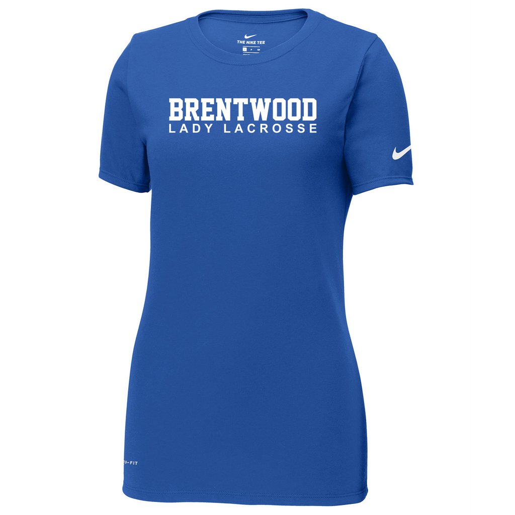 Brentwood Lady Lacrosse Nike Ladies Dri-FIT Tee