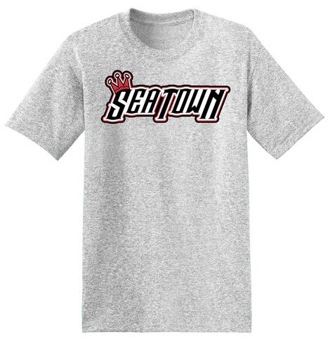 Seatown Lacrosse Ash Grey T-Shirt