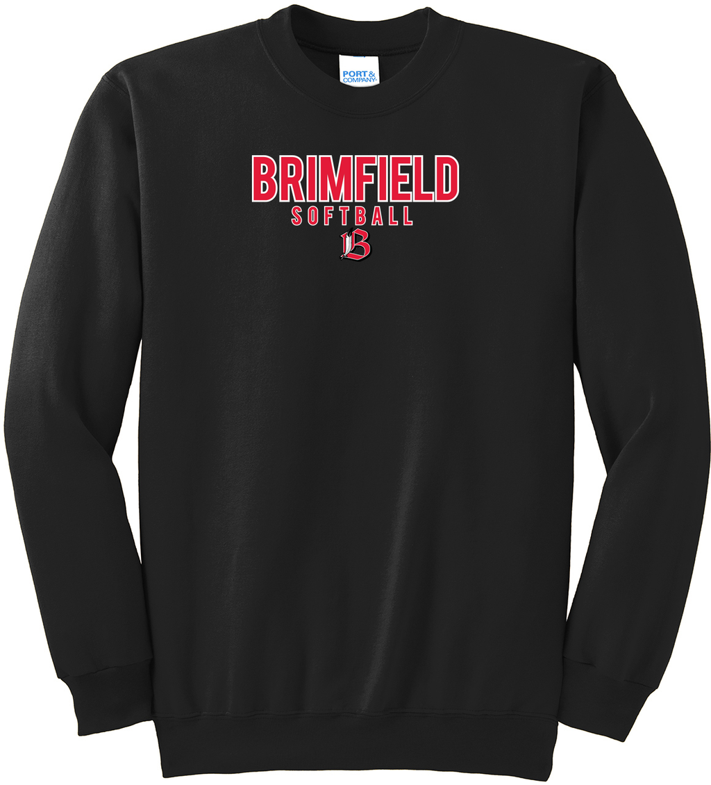 Brimfield Softball Crew Neck Sweater