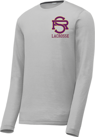 Saint Raphael Lacrosse Long Sleeve CottonTouch Performance Shirt