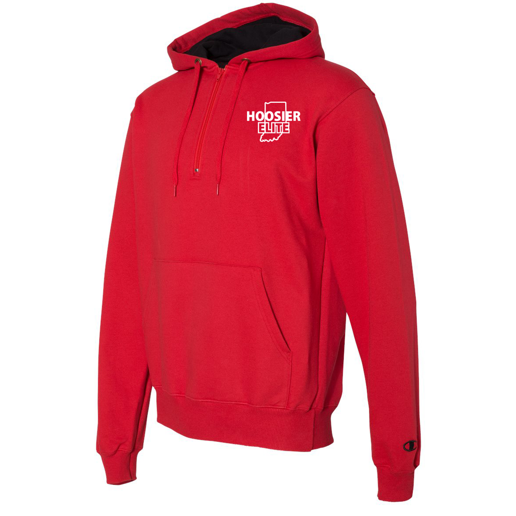 Hoosier Elite BasketballChampion Hooded Quarter Zip