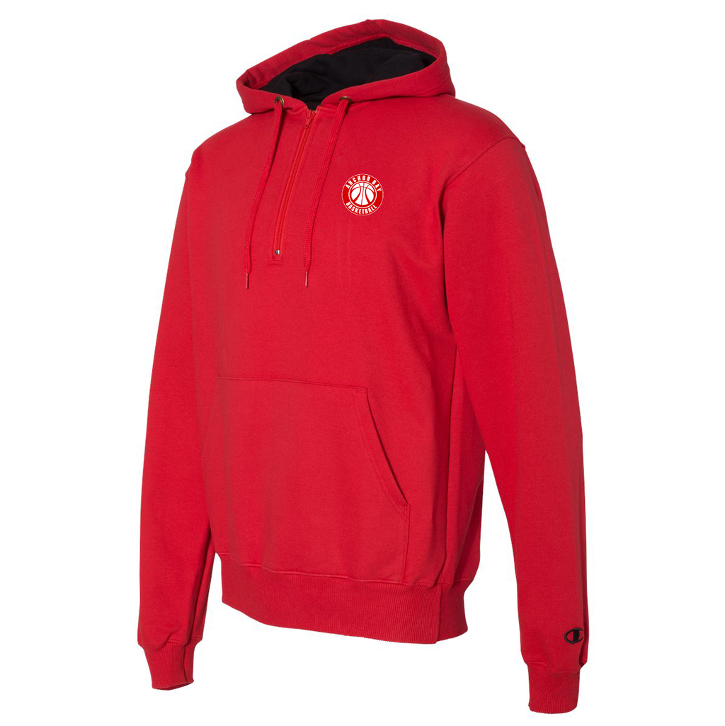 Anchor Bay Basketball Champion Hooded Quarter Zip