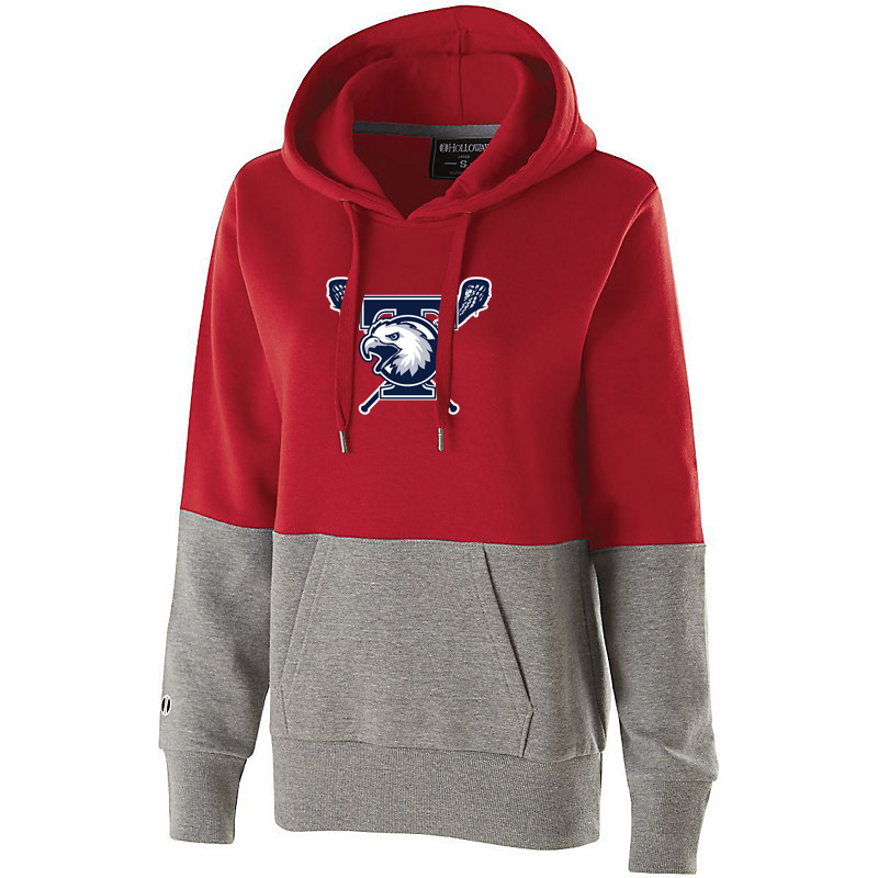 Tolland Lacrosse Club  Women's Colorblock Hoodie