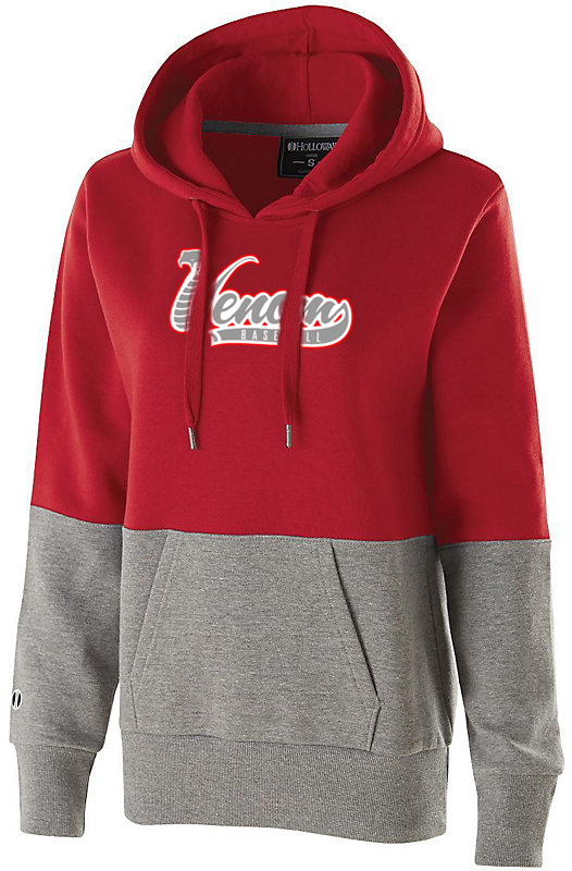 Valley Venom Baseball Women's Colorblock Hoodie