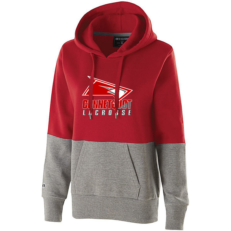 Connetquot Lacrosse Women's Colorblock Hoodie