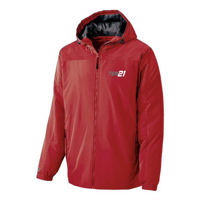 TEN21 Lacrosse Bionic Hooded Jacket