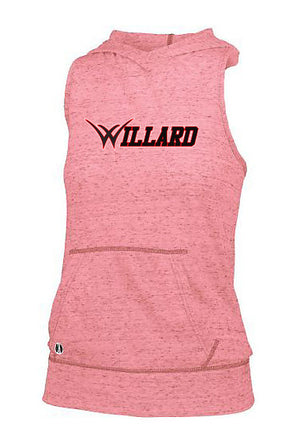 Willard Tigers Baseball Women's Hooded Tank