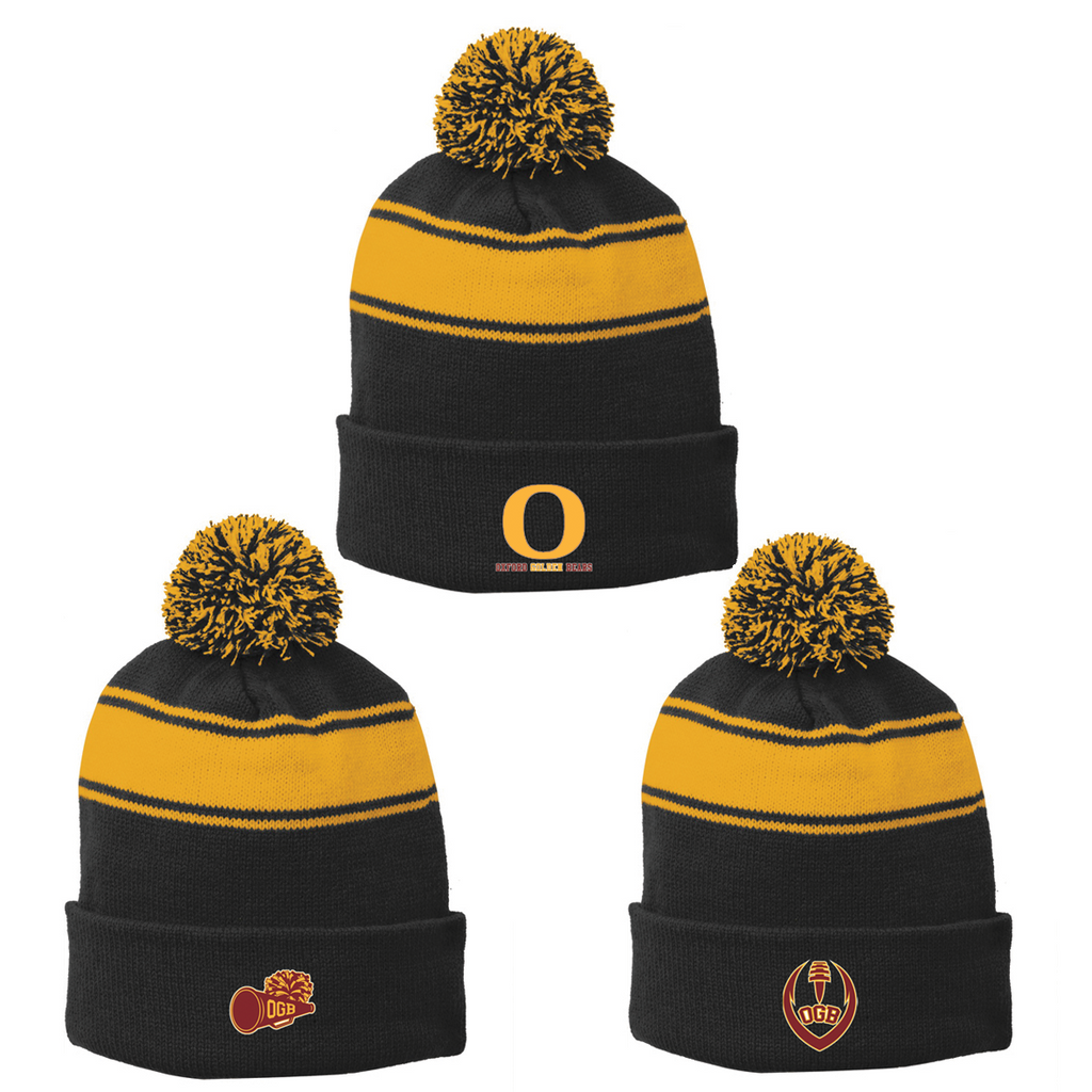 Oxford Golden Bears Pom Pom Beanie