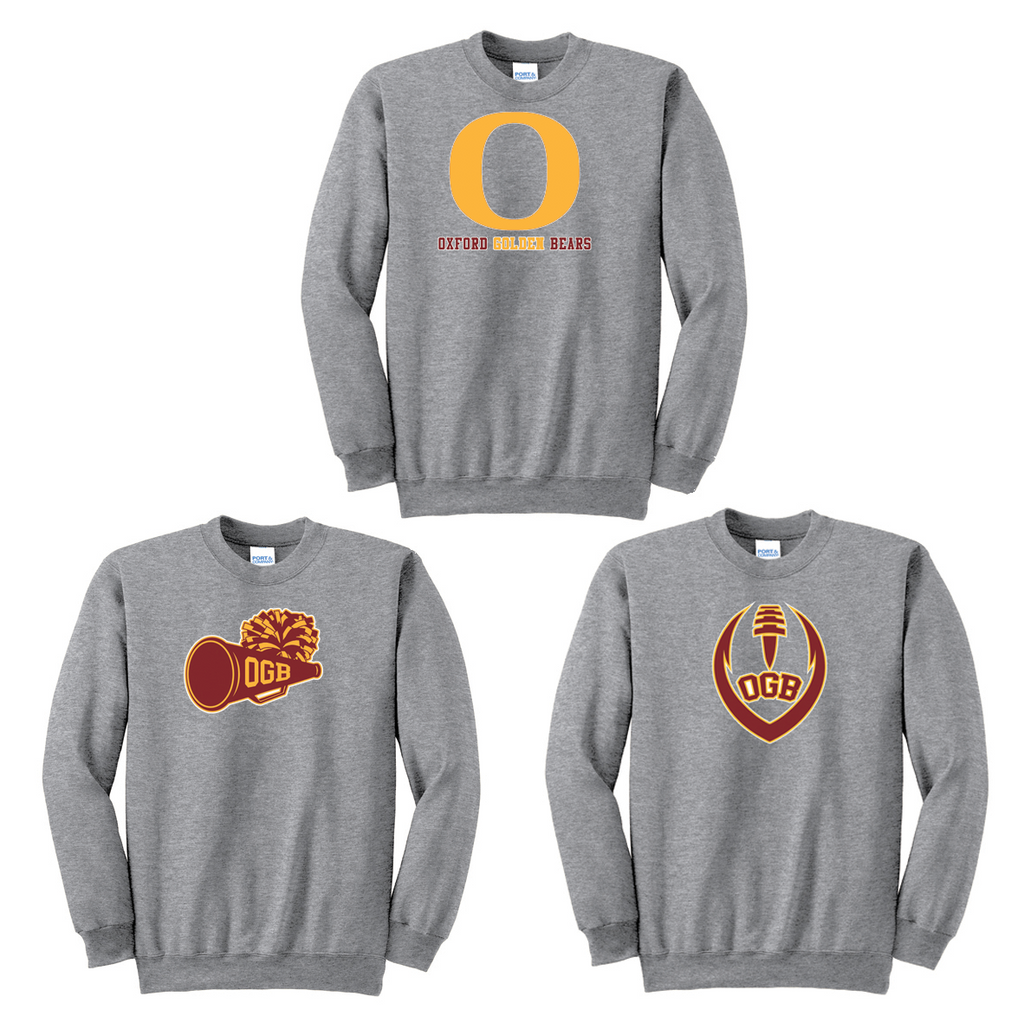 Oxford Golden Bears Crew Neck Sweater