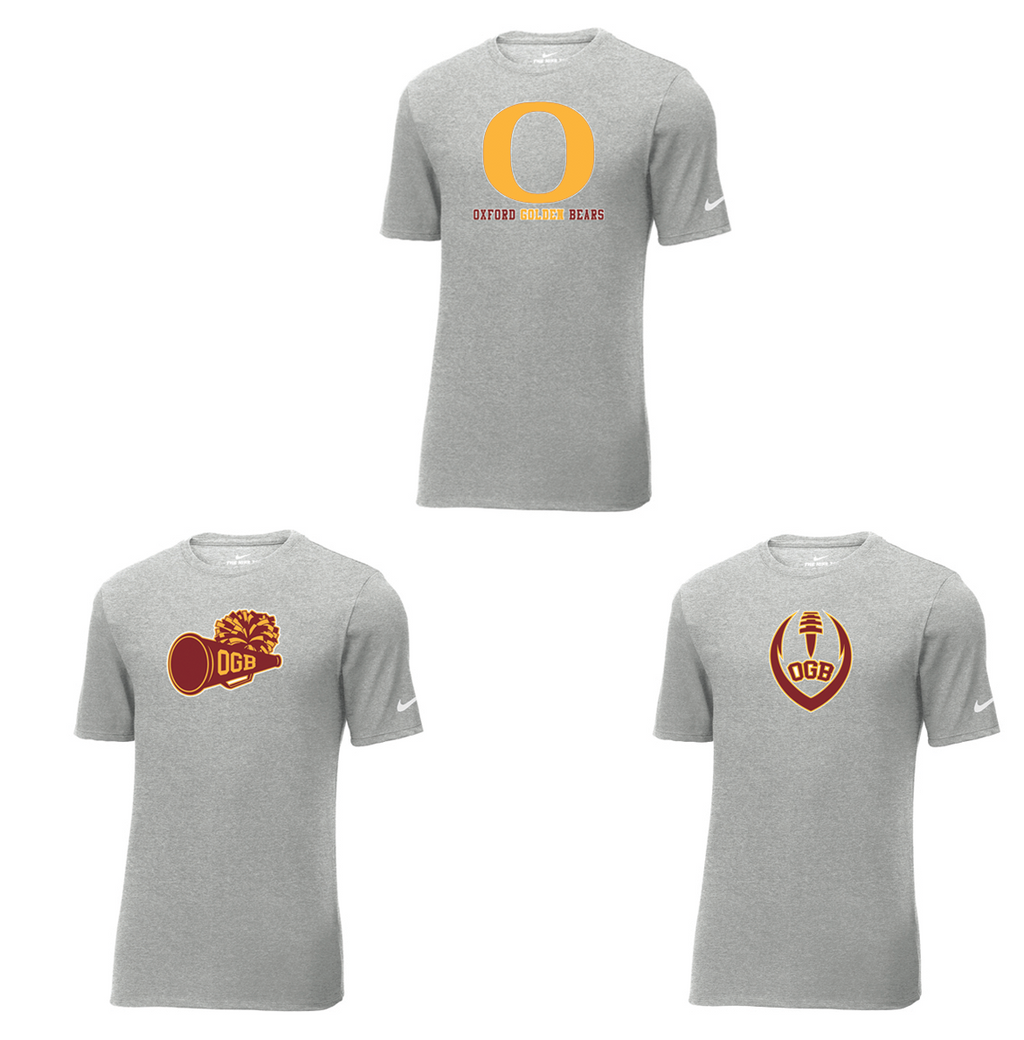 Oxford Golden Bears  Nike Core Cotton Tee