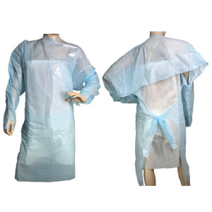 Level 1 CPE Medical Gown (Pack of 50)