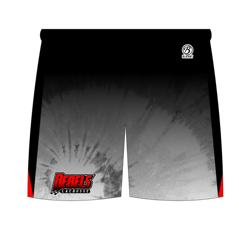 Rebels Lacrosse Sublimated Shorts