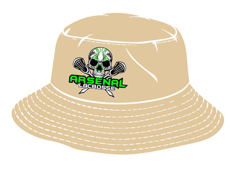 Arsenal Lacrosse Bucket Hat (Khaki)