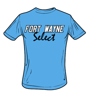 Fort Wayne Select Performance T-Shirt (Carolina Blue)