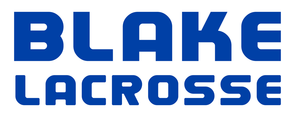 Blake Lacrosse Car Decal Sticker