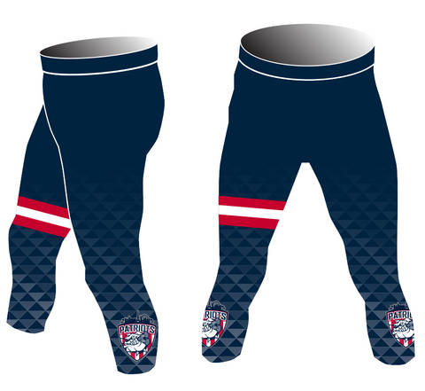 Las Vegas Patriots 3/4 Compression Pants
