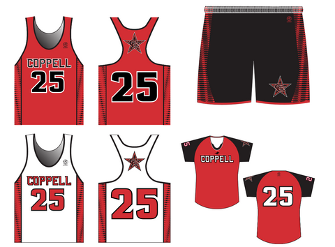 Coppell Lacrosse Women's 3 Piece Premium Uniform Set