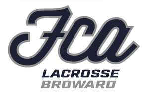 FCA Lacrosse Car Decal