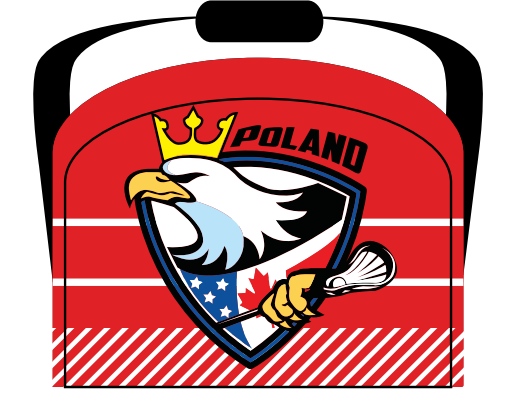 Poland Heritage Team Sublimated Team Bag