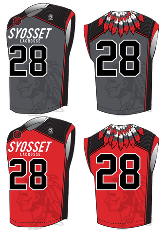 Syosset Boy's Lacrosse Reversible Sleeveless Jersey