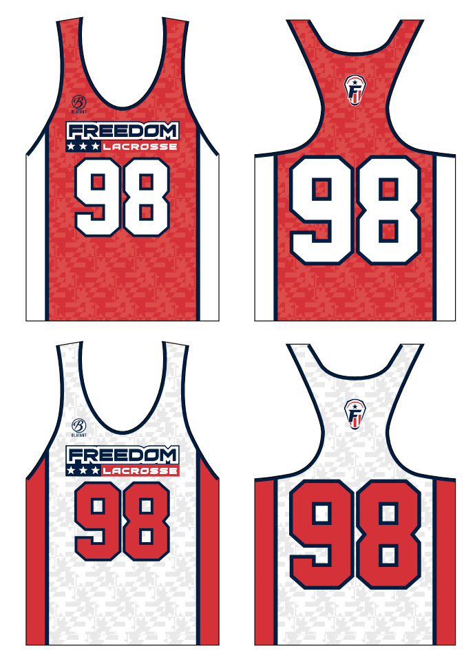 Freedom Lacrosse Girls Racerback Pinnie