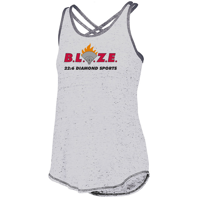 BLAZE 22:6 Diamond Sports Women's Crossback Tank