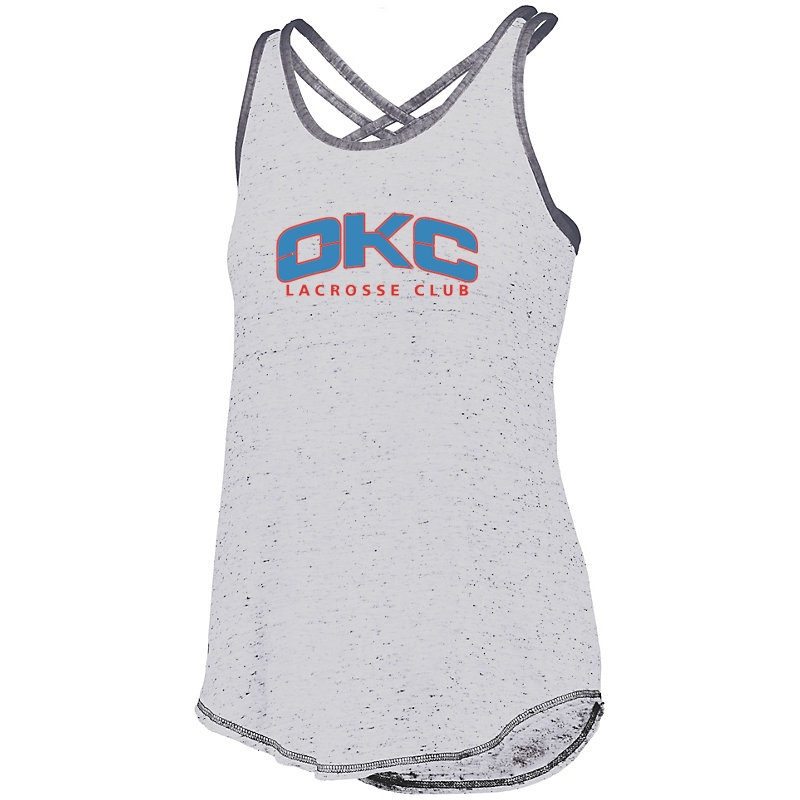 OKC Lacrosse Club Women's Crossback Tank
