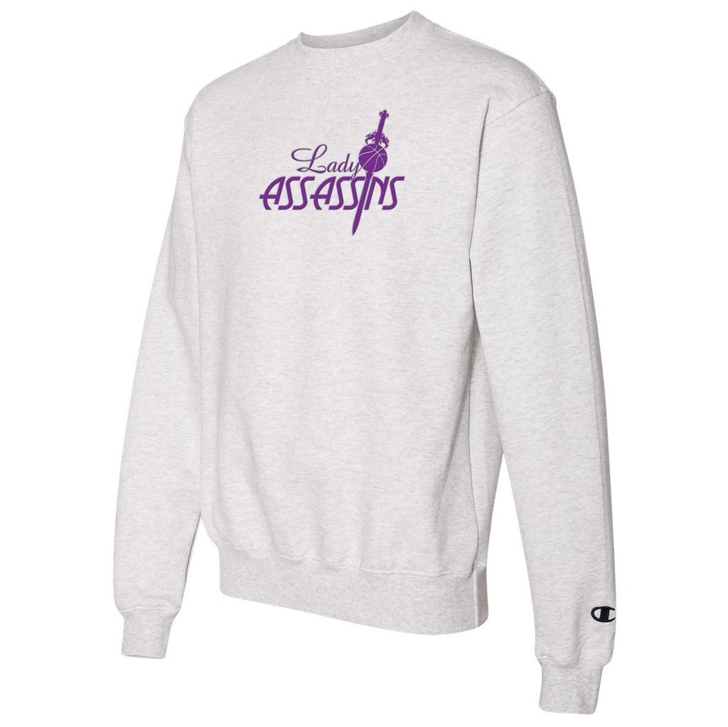 Lady Assassins Basketball Champion Crew Neck
