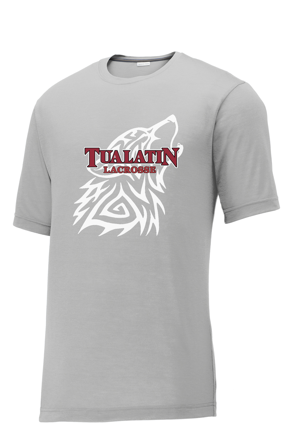 Tualatin Grey CottonTouch Performance T-Shirt