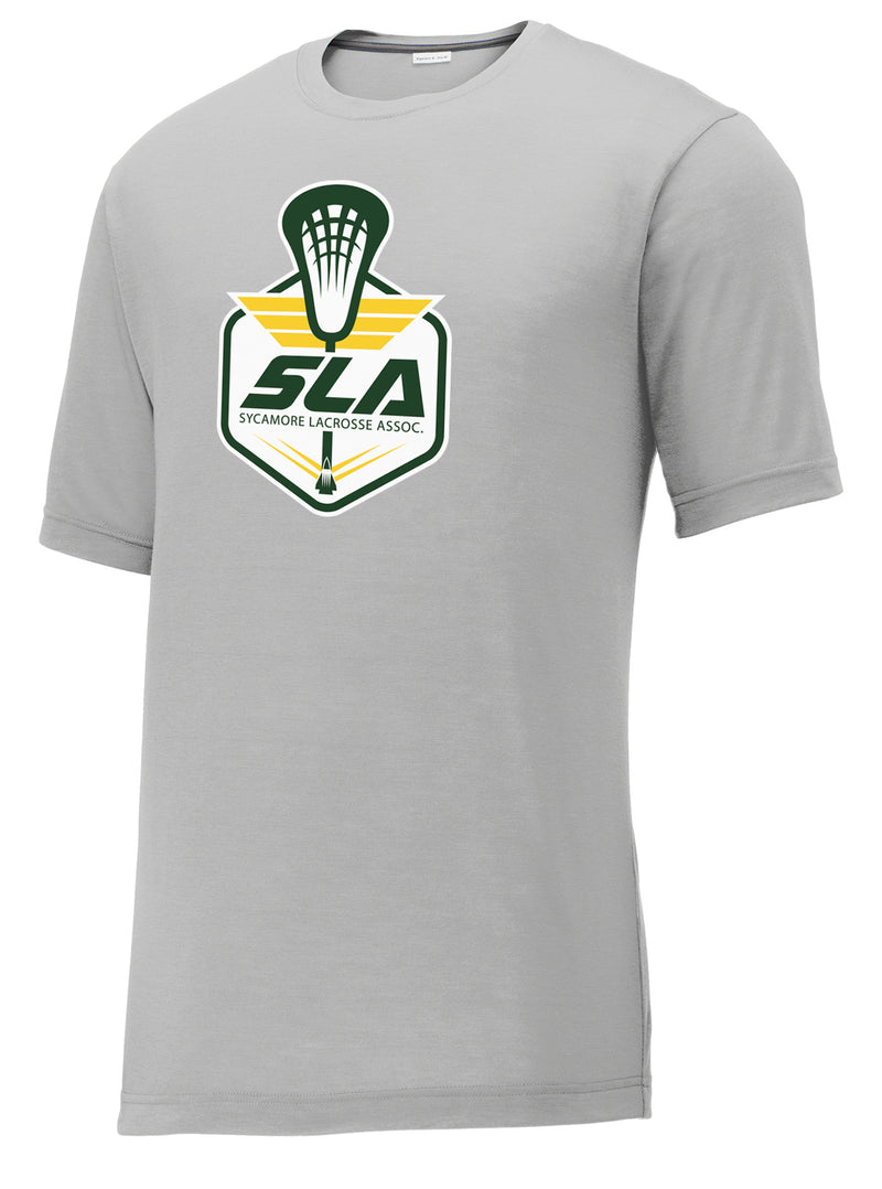 Sycamore Lacrosse Association Silver CottonTouch Performance T-Shirt