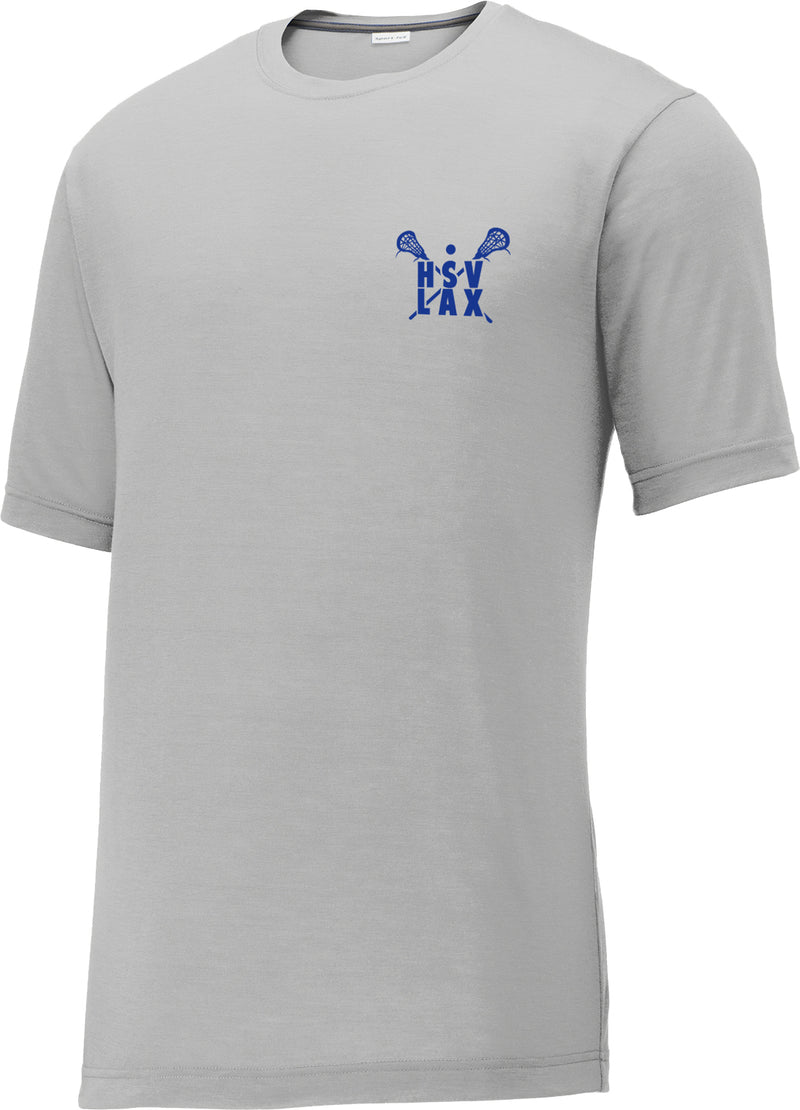 Huntsville Lacrosse Silver CottonTouch Performance T-Shirt